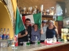 Drinking the flag at the Circolo