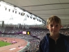 Grandson Milo at London Olympics