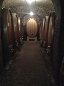 Old cellar at Alessandria