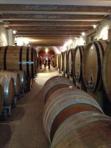 Ca del Baio ageing cellar